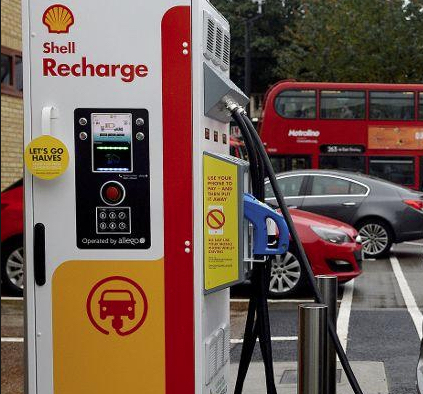Shell Oil Installing Electric Charging Stations Across